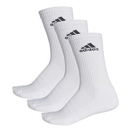 Adidas 3-stripes performance sportsokken white
