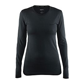 Craft Active Comfort RN LS thermoshirt dames black