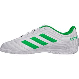 adidas Copa 19.4 IN D98096 zaalvoetbalschoenen junior footwear white solar lime footwear white
