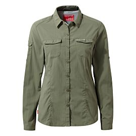 Craghoppers NosiLife Adventure II blouse dames soft moss