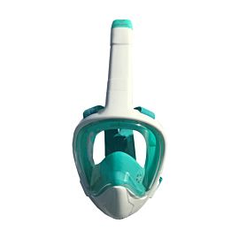 Aqua Lung Atlantis 3.0 Full Face snorkelmasker white turquoise L-XL