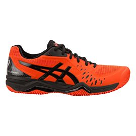 ASICS Gel-Challenger 12 Clay 1041A048 tennisschoenen heren cherry tomato black