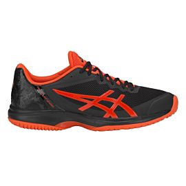 ASICS Gel-Court Speed Clay E801N tennisschoenen heren black cherry tomato