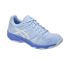 ASICS Gel-Domain 4 E659Y indoorschoenen dames airy blue silver white