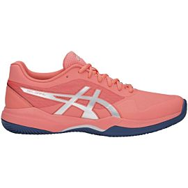ASICS Gel Game 7 Clay Omnicourt 1042A038 tennisschoenen dames papaya silver