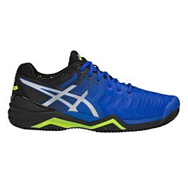 ASICS Gel-Resolution 7 Clay E702Y tennisschoenen heren illusion blue silver