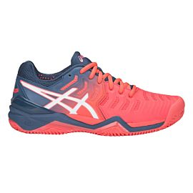 ASICS Gel-Resolution 7 Clay E752Y tennisschoenen dames papaya white