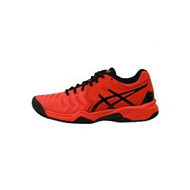 ASICS Gel-Resolution 7 Clay GS C800Y tennisschoenen junior cherry tomato black