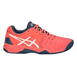 ASICS Gel-Resolution 7 Clay GS C800Y tennisschoenen junior papaya white