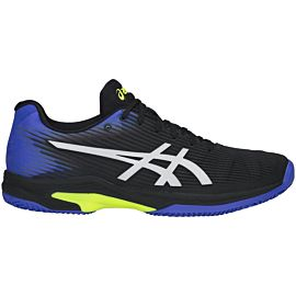 ASICS Solution Speed FF Clay 1041A004 tennisschoenen heren black illusion blue