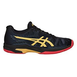 ASICS Solution Speed FF Le Clay 1041A055 tennisschoenen heren black rich gold