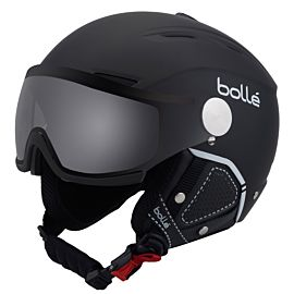 Bolle Backline Visor All Weather helm soft black white