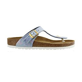 Birkenstock Gizeh slippers junior snake sky