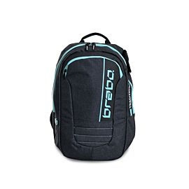 Brabo Backpack Traditional Denim hockeytas junior black aqua