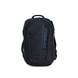 Brabo Backpack Traditional Denim hockeytas junior black blue