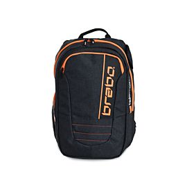 Brabo Backpack Traditional Denim hockeytas junior black orange