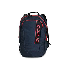 Brabo Backpack Traditional Denim hockeytas junior blue red