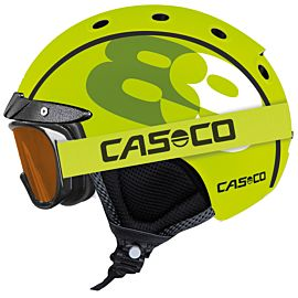 Casco Mini Pro 89 helm junior neon