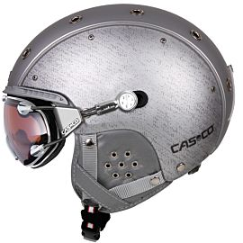 Casco SP-3 Airwolf helm silver