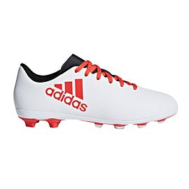 Adidas X 17.4 FG CP9015 voetbalschoenen junior grey real coral core black