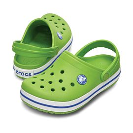 Crocs Crocband klompen junior volt green varsity blue