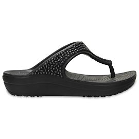 Crocs Sloane Embellished slippers dames black black
