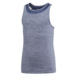 Adidas Dotty tennis tanktop junior noble indigo voorkant