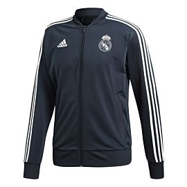 Adidas Real Madrid jack tech onix white schuin