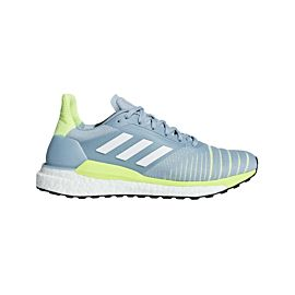 adidas Solar Glide hardloopschoenen dames ash grey ftwr white hi-res-yellow