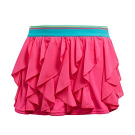 Adidas Frilly Skirt tennisrokje junior shock pink