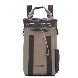 Pacsafe Dry Travelsafe 15 Anti-Diefstal rugzak sand