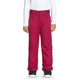 Roxy Backyard skibroek junior beet red