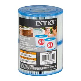 Intex S1 filter cartridge twin pack