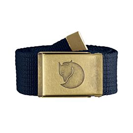 Fjällräven Canvas Brass riem dark navy