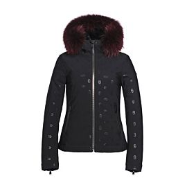Goldbergh Silvia softshell winterjas dames black