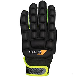 Grays International Pro hockeyhandschoen black neon yellow