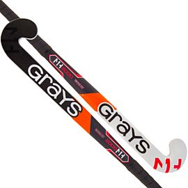 Grays MH1 GK2000 Ultrabow composite goalie 35 inch hockeystick junior black white