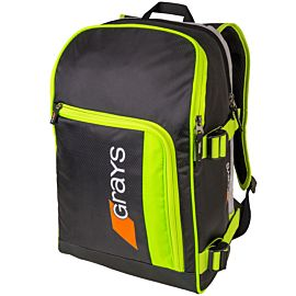 Grays GR500 backpack hockeytas black neon-yellow