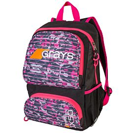 Grays GX50 backpack hockeytas camo pink