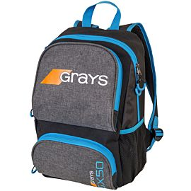 Grays GX50 backpack hockeytas grey blue