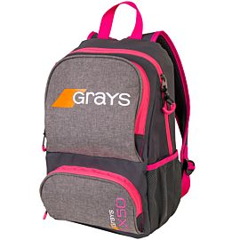 Grays GX50 backpack hockeytas grey pink