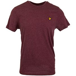 Lyle & Scott Fitness shirt heren new claret marl