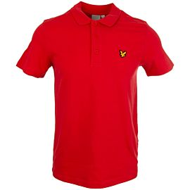 Lyle & Scott Sport polo deep pink