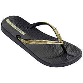 Ipanema Anatomic Mesh slippers dames black gold