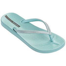 Ipanema Anatomic Mesh slippers dames green silver