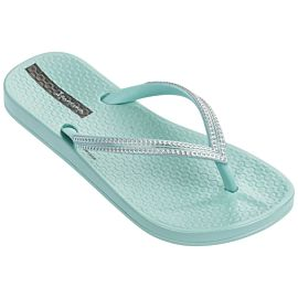 Ipanema Anatomic Mesh slippers junior green silver