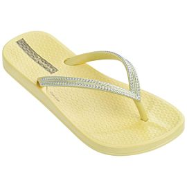 Ipanema Anatomic Mesh slippers junior yellow silver