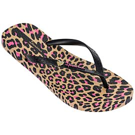 Ipanema Animal Print slippers dames beige black