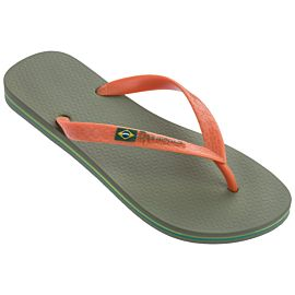 Ipanema Classic Brasil slippers heren green orange