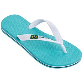 Ipanema Classic Brasil slippers junior light blue white